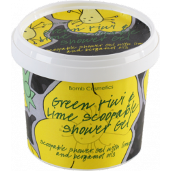 "GEL DE DUCHA GELATINA ""GREEN KIWI & LIME"" 365ML"